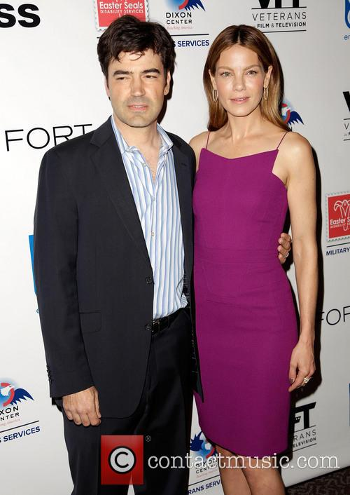 Ron Livingston and Michelle Monaghan 7
