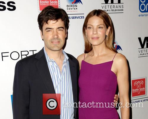 Ron Livingston and Michelle Monaghan 8