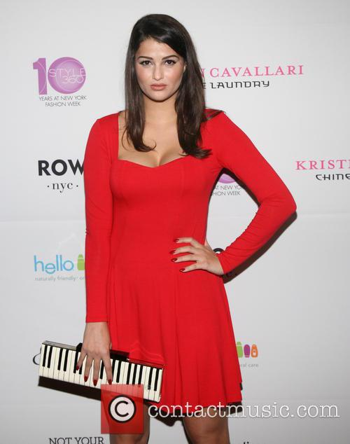Lily Lane Mercedes Benz New York Fashion Week Spring 2015 Style 360 Party 2 Pictures