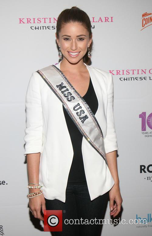 Nia Sanchez Mercedes Benz New York Fashion Week Spring 2015 Style 360 Party 8 Pictures