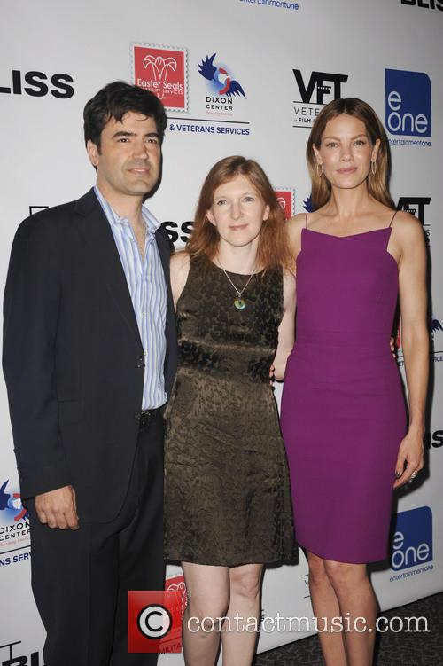 Ron Livingston, Claudia Myers and Michelle Monaghan 4