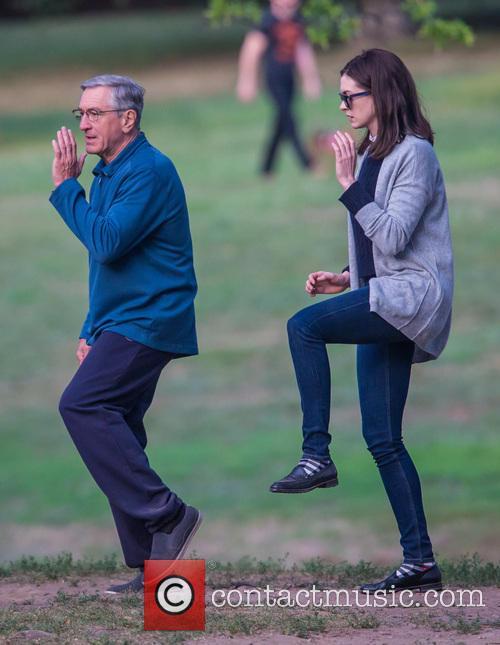 Anne Hathaway and Robert De Niro 11