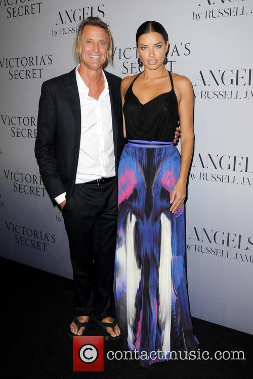 Russell James and Adriana Lima 5