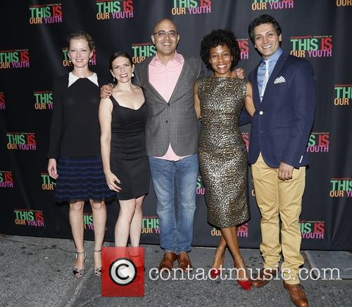 Gretchen Mol, Kimberly Senior, Ayad Akhtar, Karen Pittman and Hari Dhillon 2