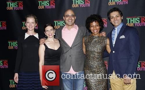 Gretchen Mol, Kimberly Senior, Ayad Akhtar, Karen Pittman and Hari Dhillon 7