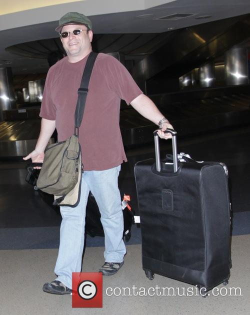 Jason Alexander at Los Angeles International Airport (LAX)