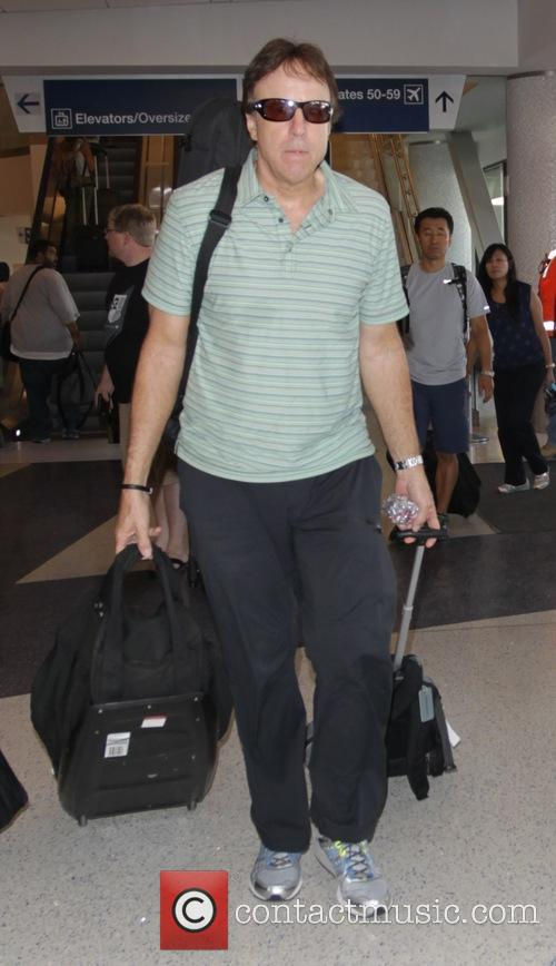 Kevin Nealon at Los Angeles International Airport (LAX)