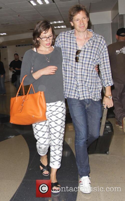Milla Jovovich and Paul Anderson 7