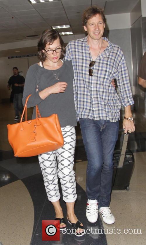Milla Jovovich and Paul Anderson 8