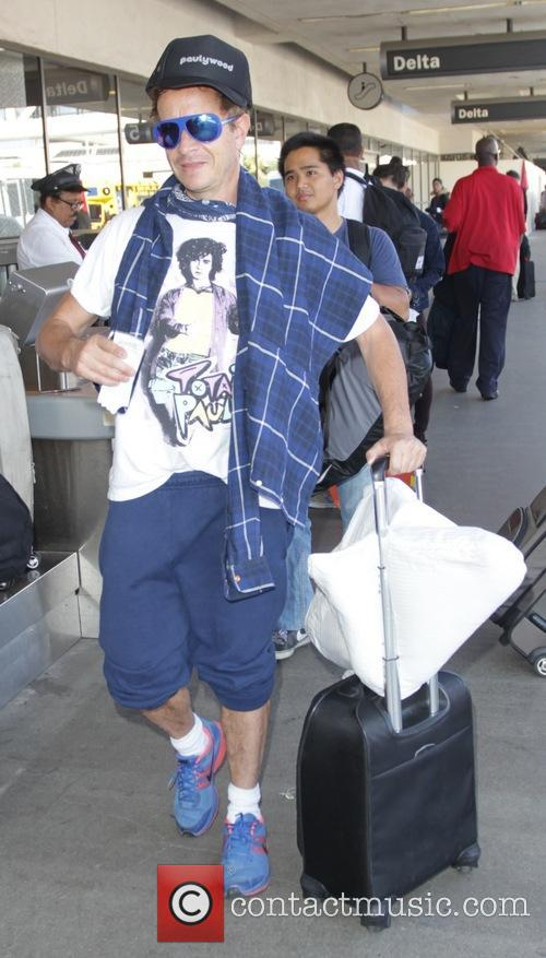 Pauly Shore at Los Angeles International Airport (LAX)