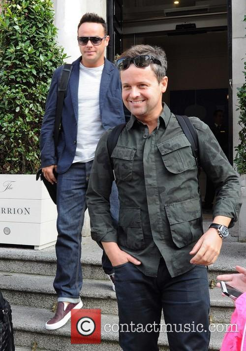 Ant & Dec leaving thier Dublin Hotel