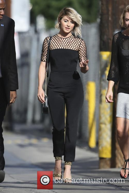Juianne Hough arriving for a taping of the...