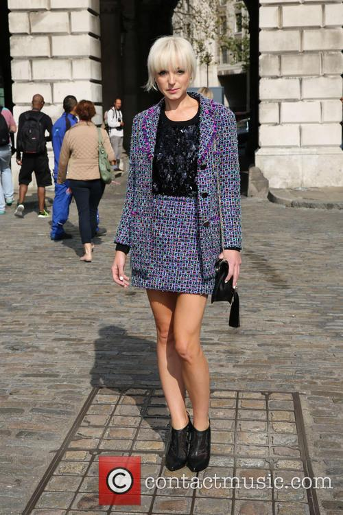 LFW Spring/Summer 2015 - Bora Aksu - Outside...