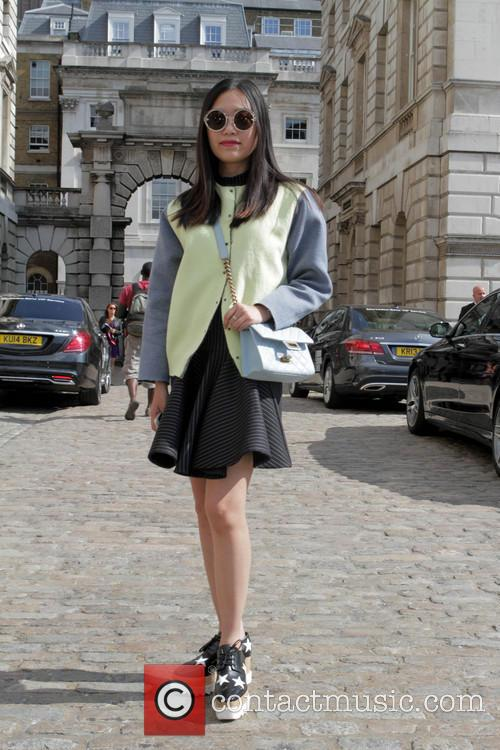 London Fashion Week Spring/Summer 2015 - Street Style