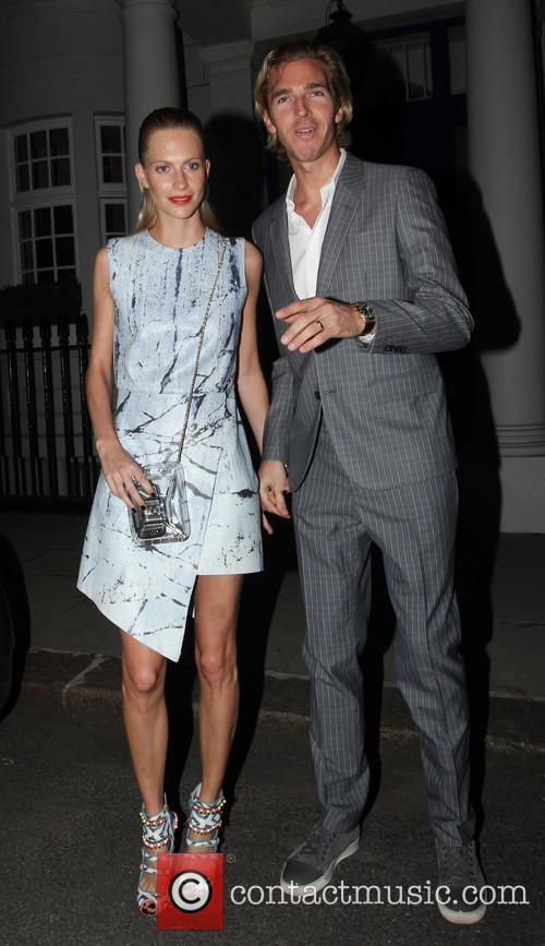 Poppy Delevingne and her husband James Cook spotted...