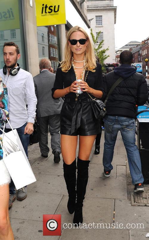 'Made in Chelsea' star Kimberley Garner spotted leaving...