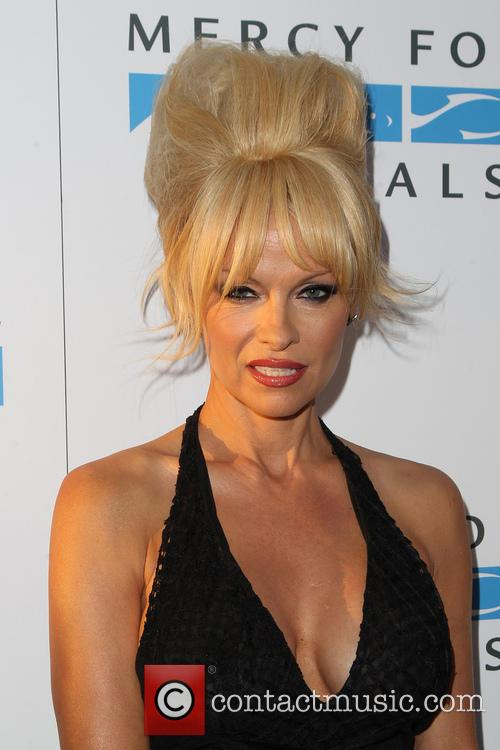 Pamela Anderson at the Mercy For Animals' 15th Anniversary Gala in California