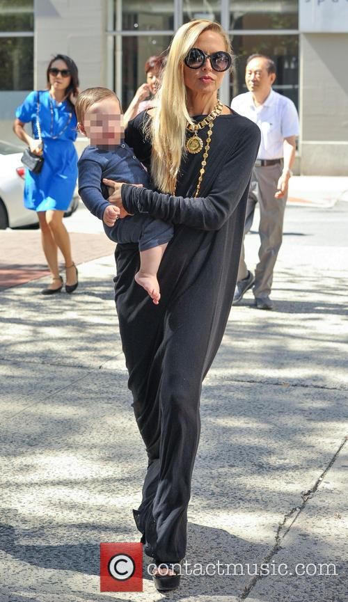 Rachel Zoe out in New York with her...
