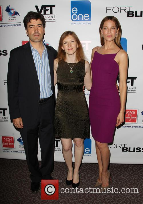Ron Livingston, Claudia Myers and Michelle Monaghan 3