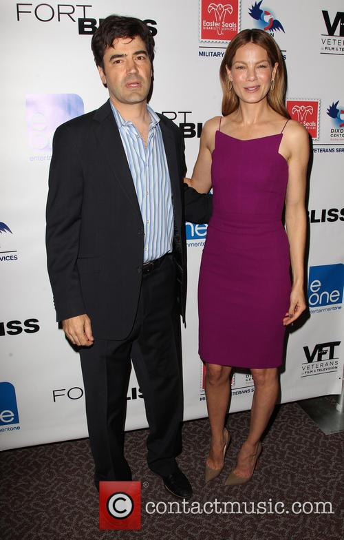 Ron Livingston and Michelle Monaghan 2