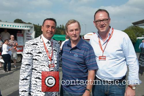 Don O'neill (manhattan Popcorn), Enda Kenny and Alan Bannon (cannonball) 6