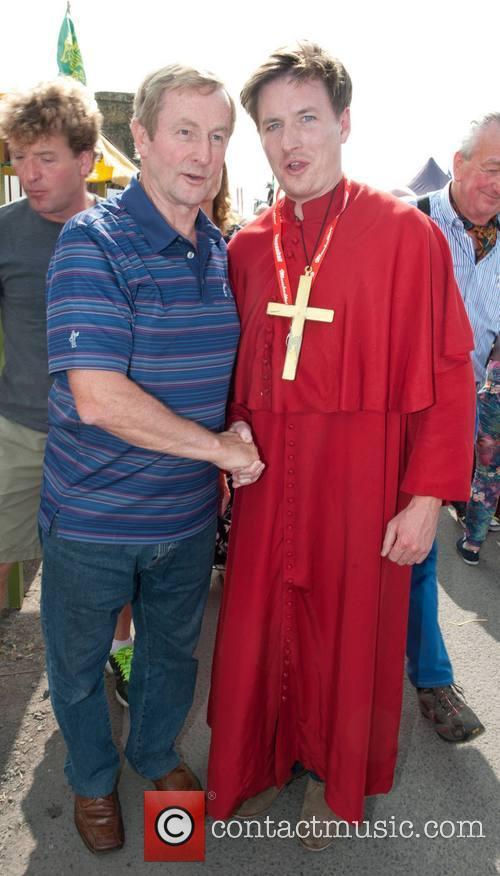Enda Kenny and Robert Hoban 7