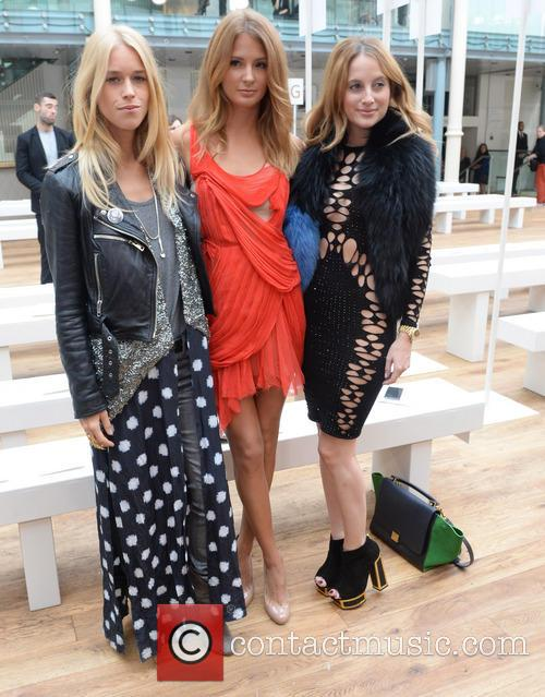 Mary Charteris, Millie Mackintosh and Rosie Fortescue 6