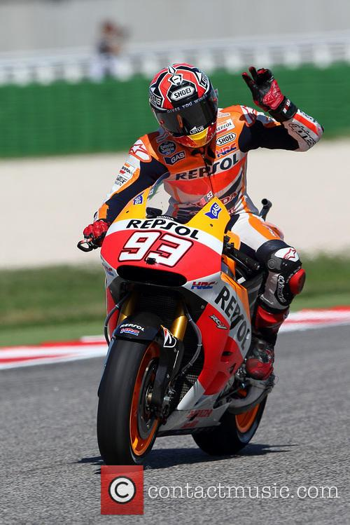 93 and Marc Marquez 2