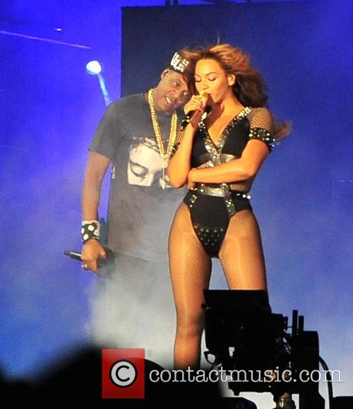 Jay-Z and Beyonce on their On The Run Tour