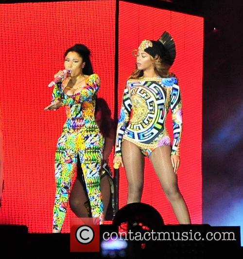 Beyonce and Nicki Minaj