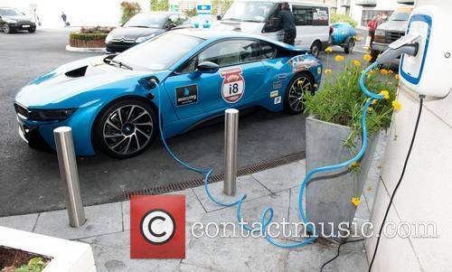 Bmw I8 Charging With Ecosynrg Charger 2