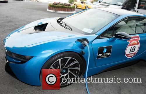 Bmw I8 Charging With Ecosynrg Charger 1