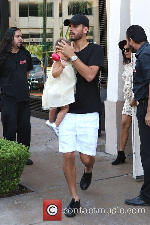 Scott Disick and Penelope Disick 1