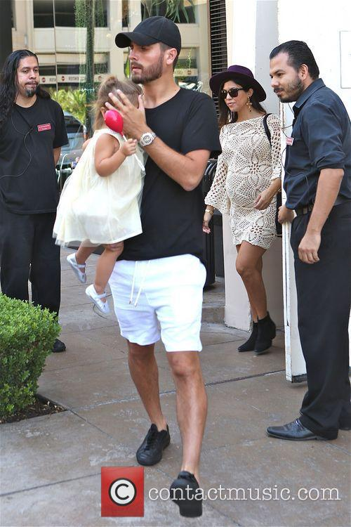 Scott Disick and Penelope Disick 4