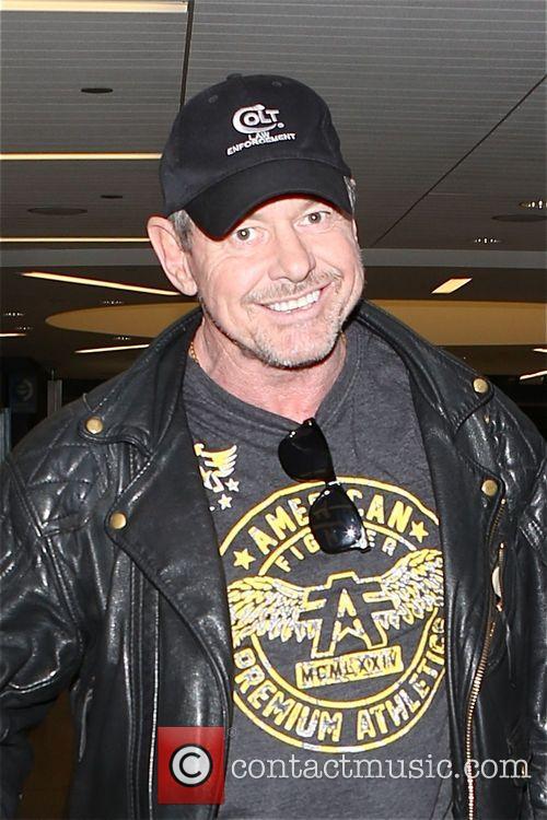 Rowdy Roddy Piper arrives at Los Angeles International...
