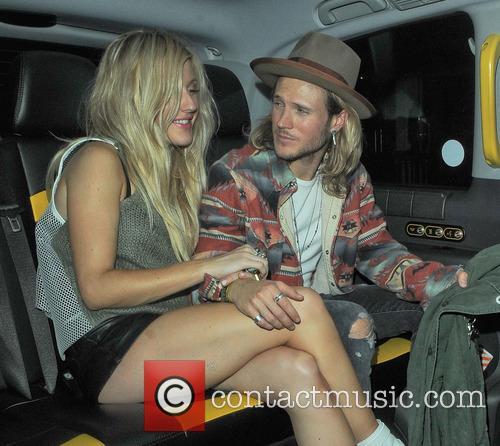 Ellie Goulding and Dougie Poynter 4