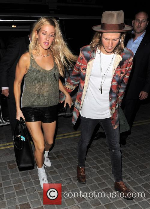 Ellie Goulding and Dougie Poynter 5