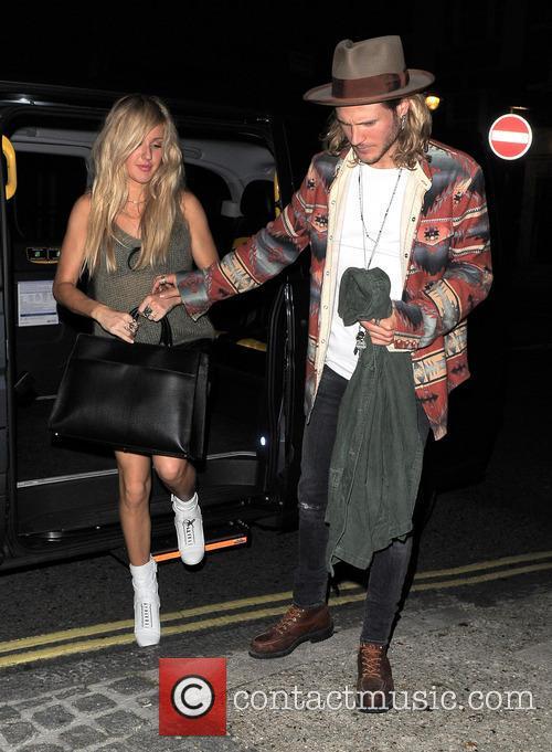 Ellie Goulding and Dougie Poynter 6