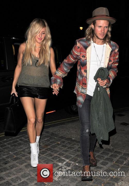 Ellie Goulding and Dougie Poynter 7