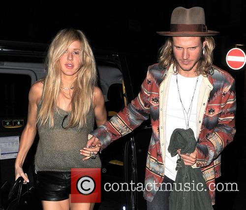 Ellie Goulding and Dougie Poynter 8