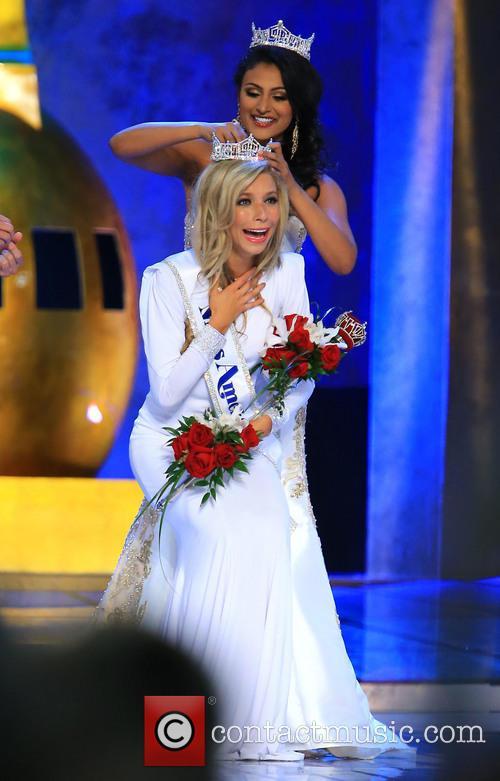 Kira Kazantsev and Miss America 2014 Nina Davuluri 1