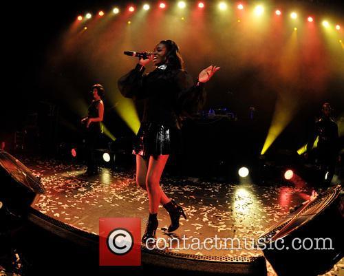American rapper Azealia Banks performs in Glasgow
