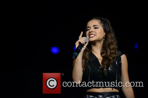 Becky G performs at American Airlines Arena