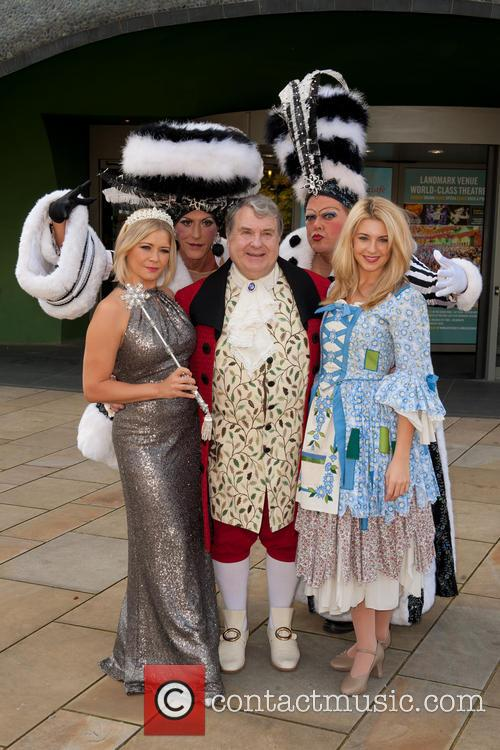 Suzanne Shaw, Russell Grant and Holly Brewer 11