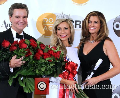Sam Haskell, Miss America Kira Kazantsev and Kathy Ireland 2