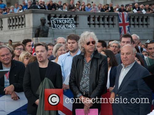 Bob Geldof and Eddie Izzard and the Let's...