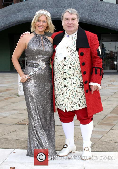 Suzanne Shaw and Russell Grant 5