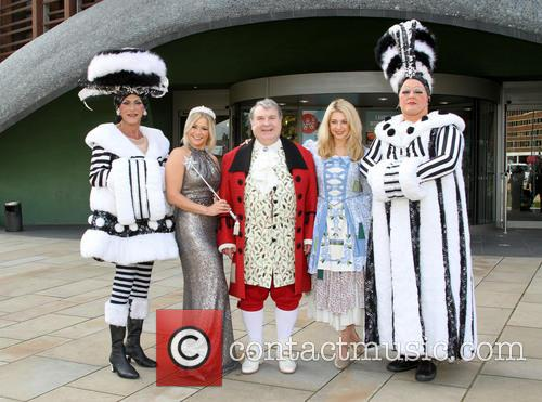 Suzanne Shaw, Russell Grant and Holly Brewer 4