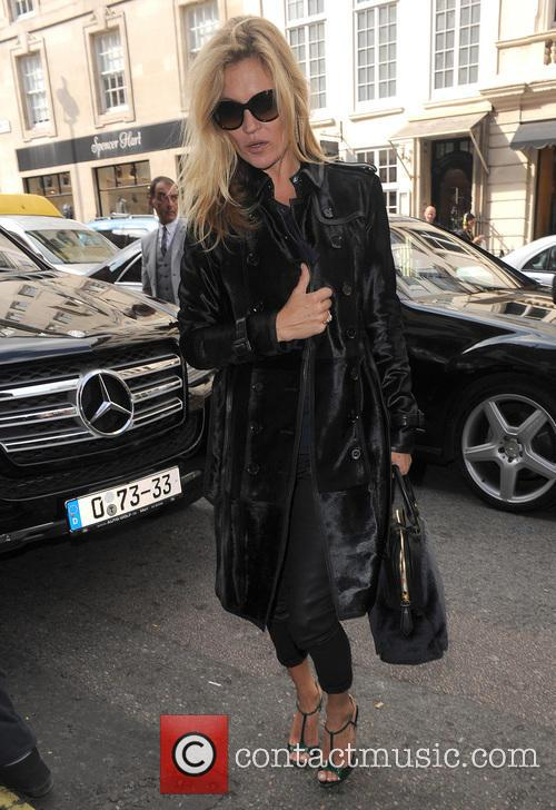 Kate Moss Claridges