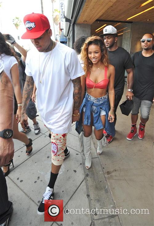 Chris Brown and Karrueche Tran 2